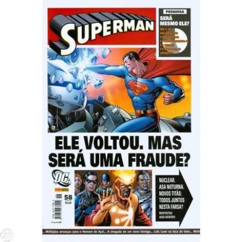 Superman [Panini - 1ª série] nº 058 set/2007