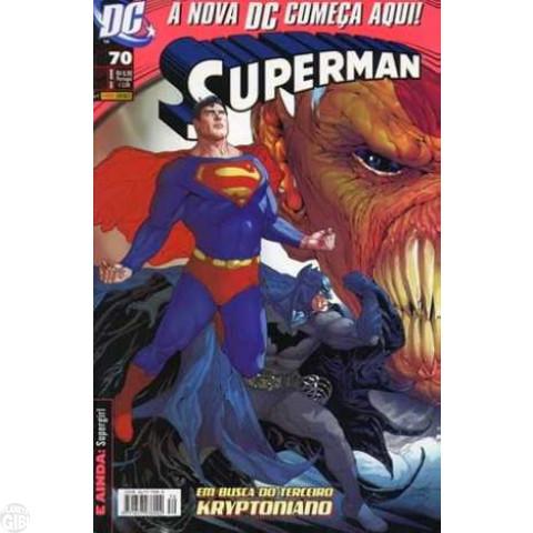 Superman [Panini - 1ª série] nº 070 set/2008