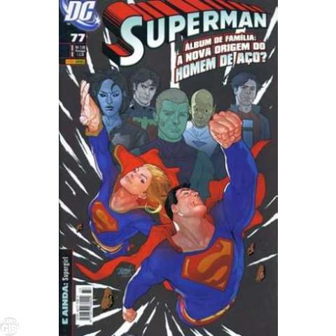 Superman [Panini - 1ª série] nº 077 abr/2009