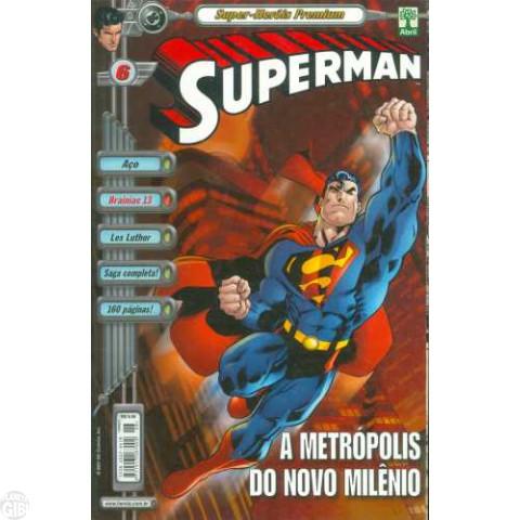 Superman [Abril - Super-Heróis Premium] nº 006 jan/2001