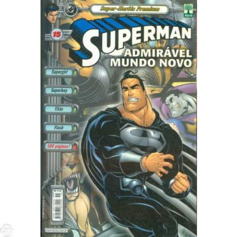 Superman [Abril - Super-Heróis Premium] nº 015 out/2001