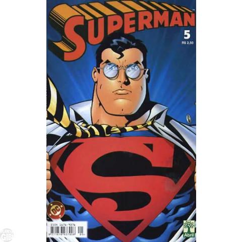 Superman [Abril - 4ª série - Planeta DC] nº 005 jul/2002 - Última Edição Desta Série