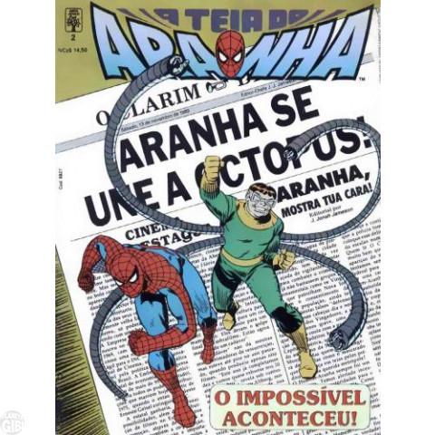 Teia do Aranha [Abril - 1ª série] nº 002 nov/1989 - Primeira aparição do Capitão Stacy