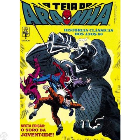 Teia do Aranha [Abril - 1ª série] nº 008 mai/1990 - Nas Teias do Perigo