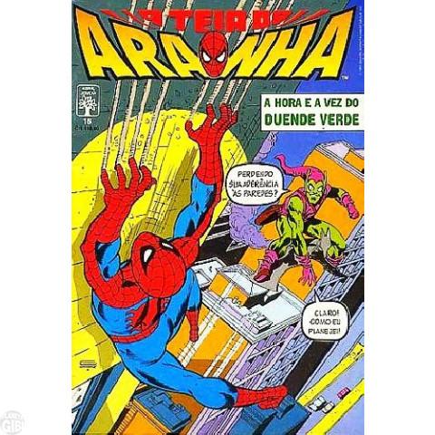 Teia do Aranha [Abril - 1ª série] nº 016 jan/1991 - E Agora, o Duende!