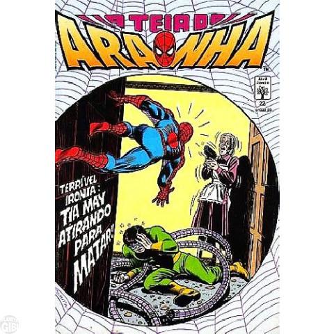 Teia do Aranha [Abril - 1ª série] nº 022 jul/1991 - Surge... O Golpeador!