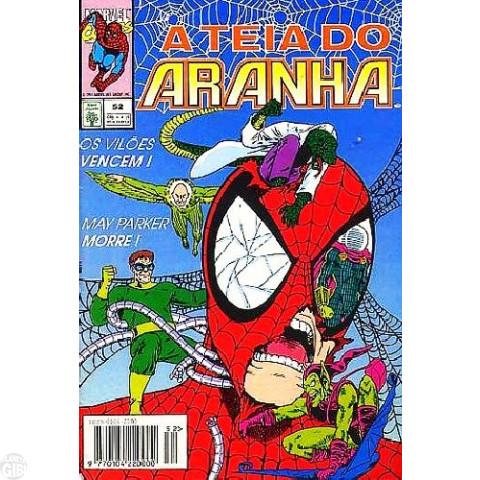 Teia do Aranha [Abril - 1ª série] nº 052 fev/1994