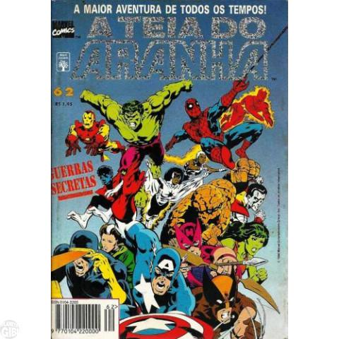 Teia do Aranha [Abril - 1ª série] nº 062 dez/1994 - Guerras Secretas - Partes 1 a 3