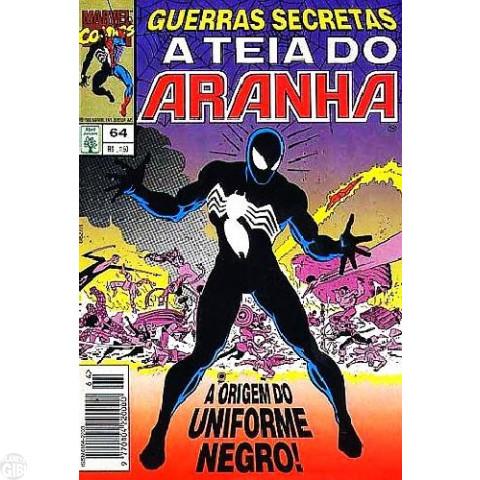 Teia do Aranha [Abril - 1ª série] nº 064 fev/1995 - Guerras Secretas - Partes 7 a 9