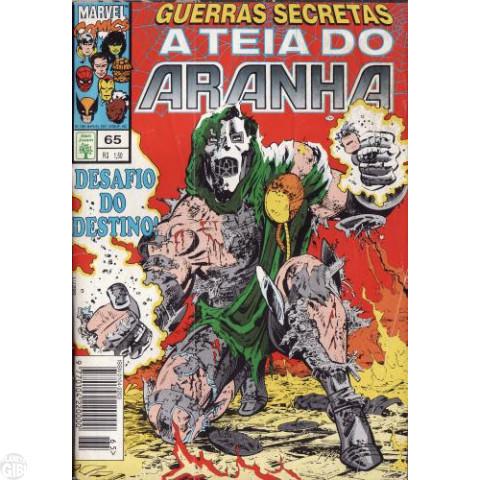 Teia do Aranha [Abril - 1ª série] nº 065 mar/1995 - Guerras Secretas - Partes 10 e 11