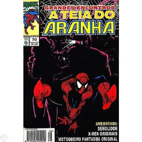 Teia do Aranha [Abril - 1ª série] nº 070 ago/1995 - Grandes Encontros