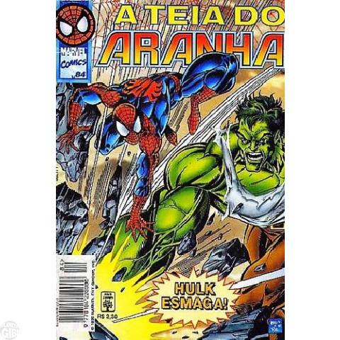 Teia do Aranha [Abril - 1ª série] nº 084 out/1996