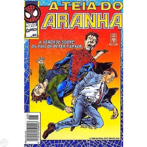 Teia do Aranha [Abril - 1ª série] nº 085 nov/1996