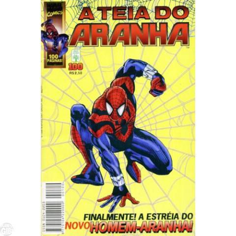 Teia do Aranha [Abril - 1ª série] nº 100 fev/1998 - A Estreia do Novo Homem-Aranha!