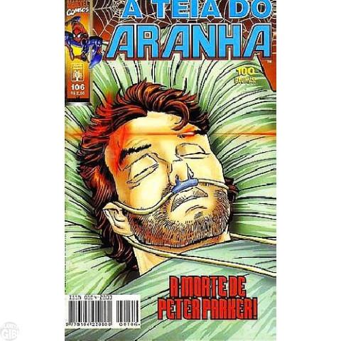 Teia do Aranha [Abril - 1ª série] nº 106 ago/1998
