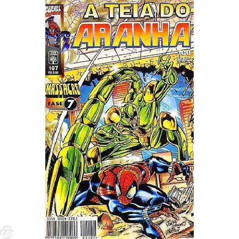 Teia do Aranha [Abril - 1ª série] nº 107 set/1998