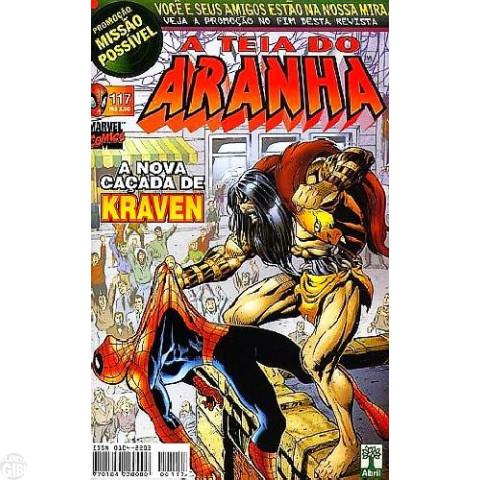Teia do Aranha [Abril - 1ª série] nº 117 jul/1999