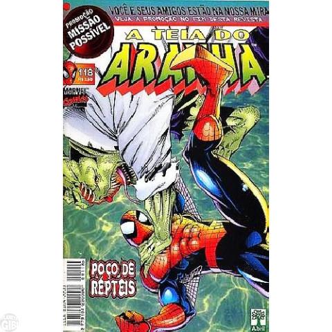 Teia do Aranha [Abril - 1ª série] nº 118 ago/1999