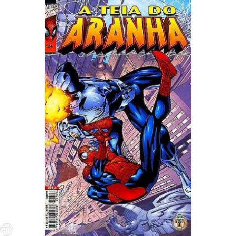 Teia do Aranha [Abril - 1ª série] nº 124 fev/2000