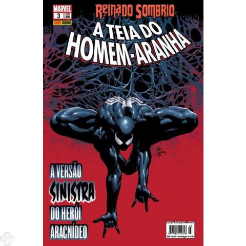 Teia do Homem-Aranha [Panini - 1ª série] nº 003 out/2010 - Lacrado