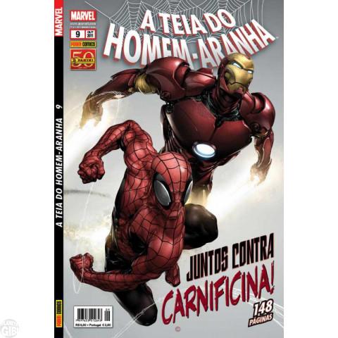 Teia do Homem-Aranha [Panini - 1ª série] nº 009 out/2011 - Lacrado