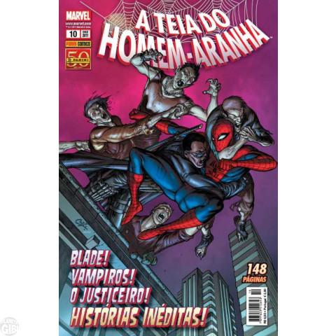 Teia do Homem-Aranha [Panini - 1ª série] nº 010 dez/2011 - Lacrado