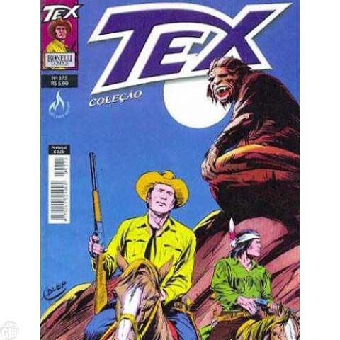 Tex Coleção nº 275 dez/09 - Capa Inédita de Galep