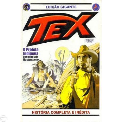 Tex Edição Gigante nº 020 out/07 - O Profeta Indígena - Raro