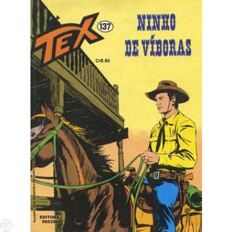 Tex nº 137 jan/82 - Ninho de Víboras - Vecchi