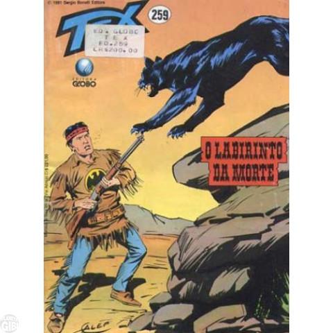 Tex nº 259 mai/91 - O Labirinto da Morte