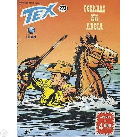 Tex nº 273 jun/1992 - Pegadas na Areia
