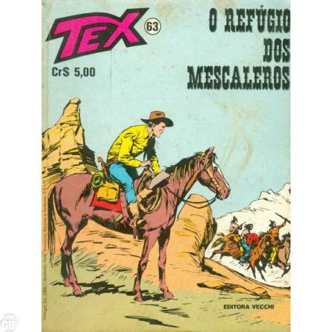 Tex nº 063 mai/76  - O Refúgio dos Mescaleros
