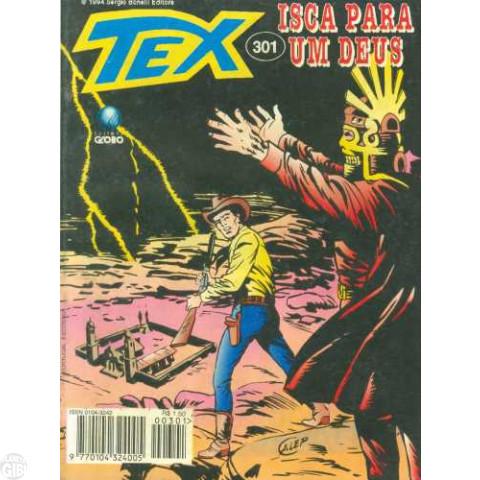 Tex nº 301 nov/1994 - Isca para um Deus