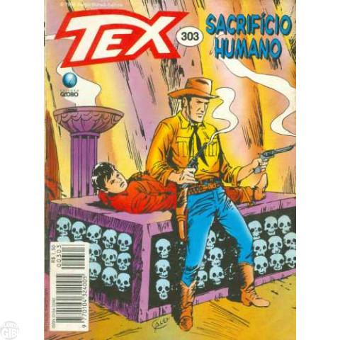 Tex nº 303 jan/1995 - Sacrfício Humano