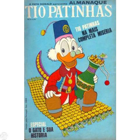 Tio Patinhas nº 040 nov/1968 - Vide detalhes