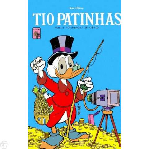 Tio Patinhas nº 136 nov/1976 - Vide detalhes
