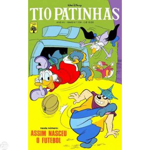 Tio Patinhas nº 154 mai/1978 - Vide detalhes