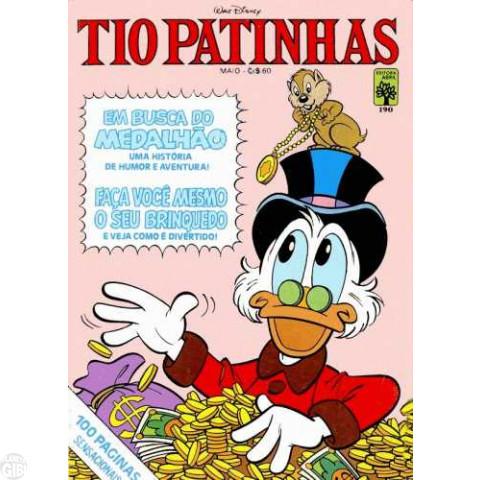 Tio Patinhas nº 190 mai/1981 - Vide detalhes