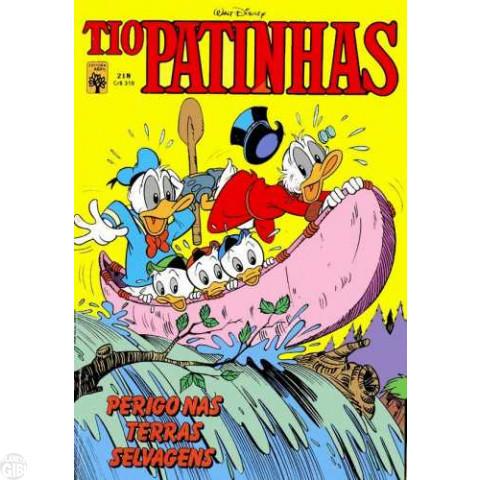 Tio Patinhas nº 218 jul/1983 - Perigo nas Terras Selvagens