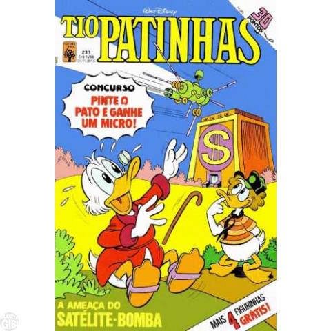 Tio Patinhas nº 233 out/1984 - Com as Figurinhas