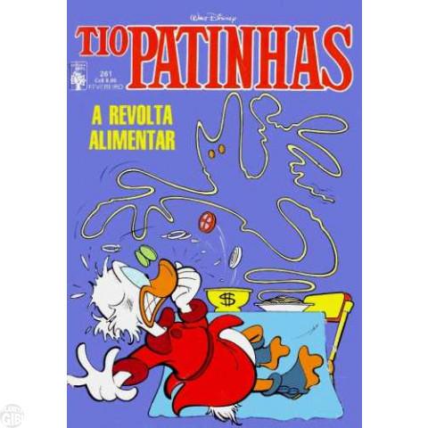 Tio Patinhas nº 261 fev/1987 - Vide detalhes