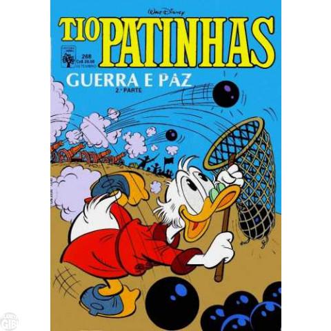 Tio Patinhas nº 268 set/1987 - Vide Detalhes