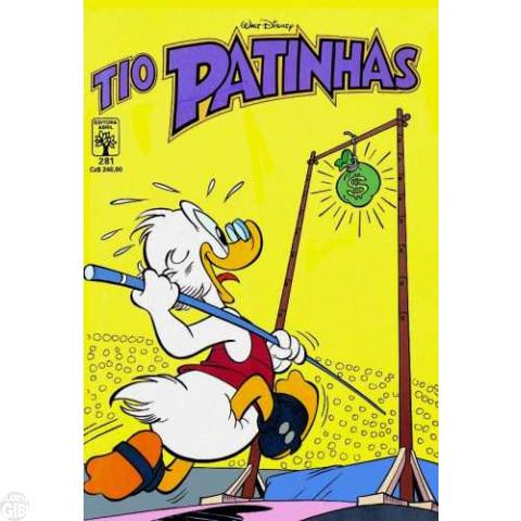 Tio Patinhas nº 281 out/1988 - A Nova Caixa-Forte