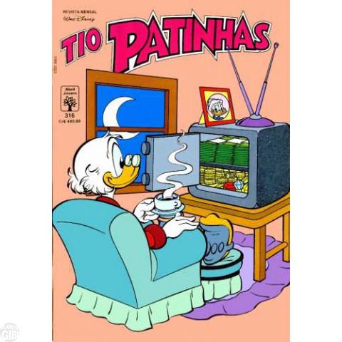 Tio Patinhas nº 316 set/1991