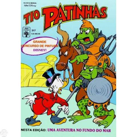 Tio Patinhas nº 317 out/1991