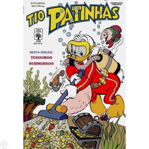 Tio Patinhas nº 318 nov/1991