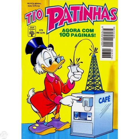 Tio Patinhas nº 376 nov/1996 - O Pato Voador