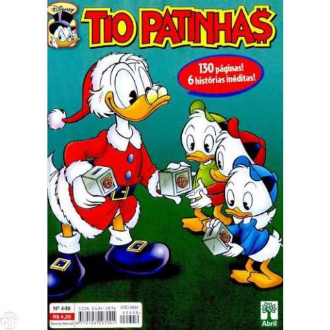 Tio Patinhas nº 449 dez/2002 - Vide detalhes