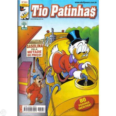 Tio Patinhas nº 482 ago/2005 - Nova Fase