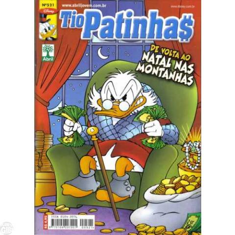 Tio Patinhas nº 521 dez/2008